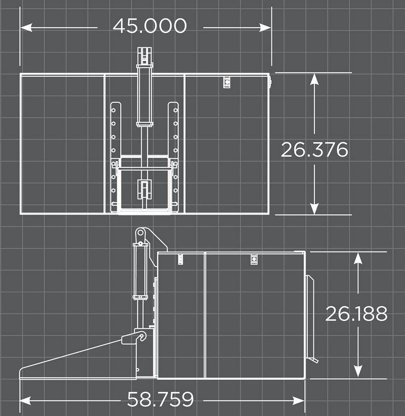 Hydraulic Concrete Bucket Specs