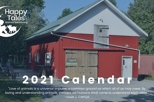 Happy Tales 2021 Calendar