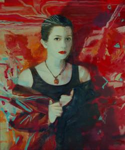Портрет на красном
