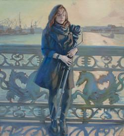 Портрет Лизы. Осень в Питере.