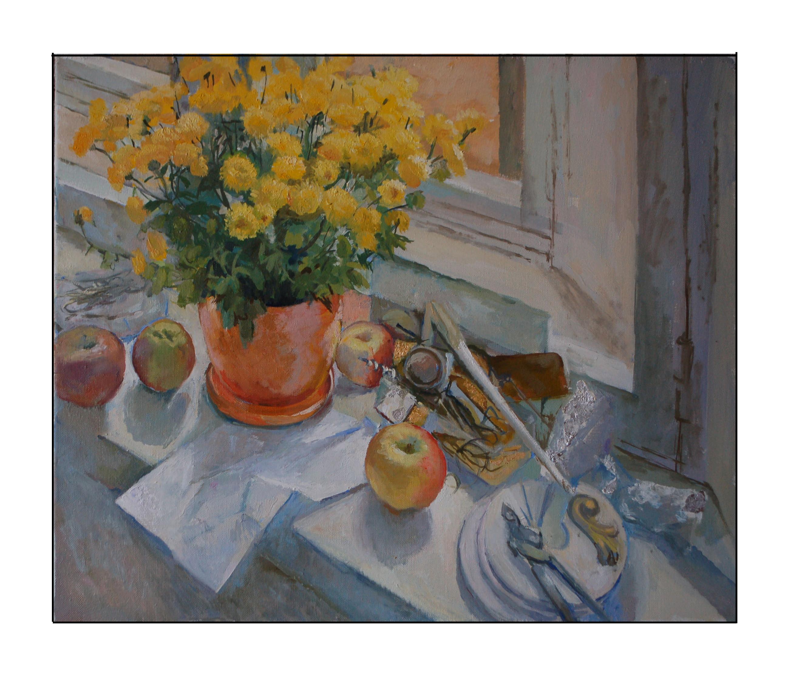 """""""Желтые цветы"""", 2014г."""