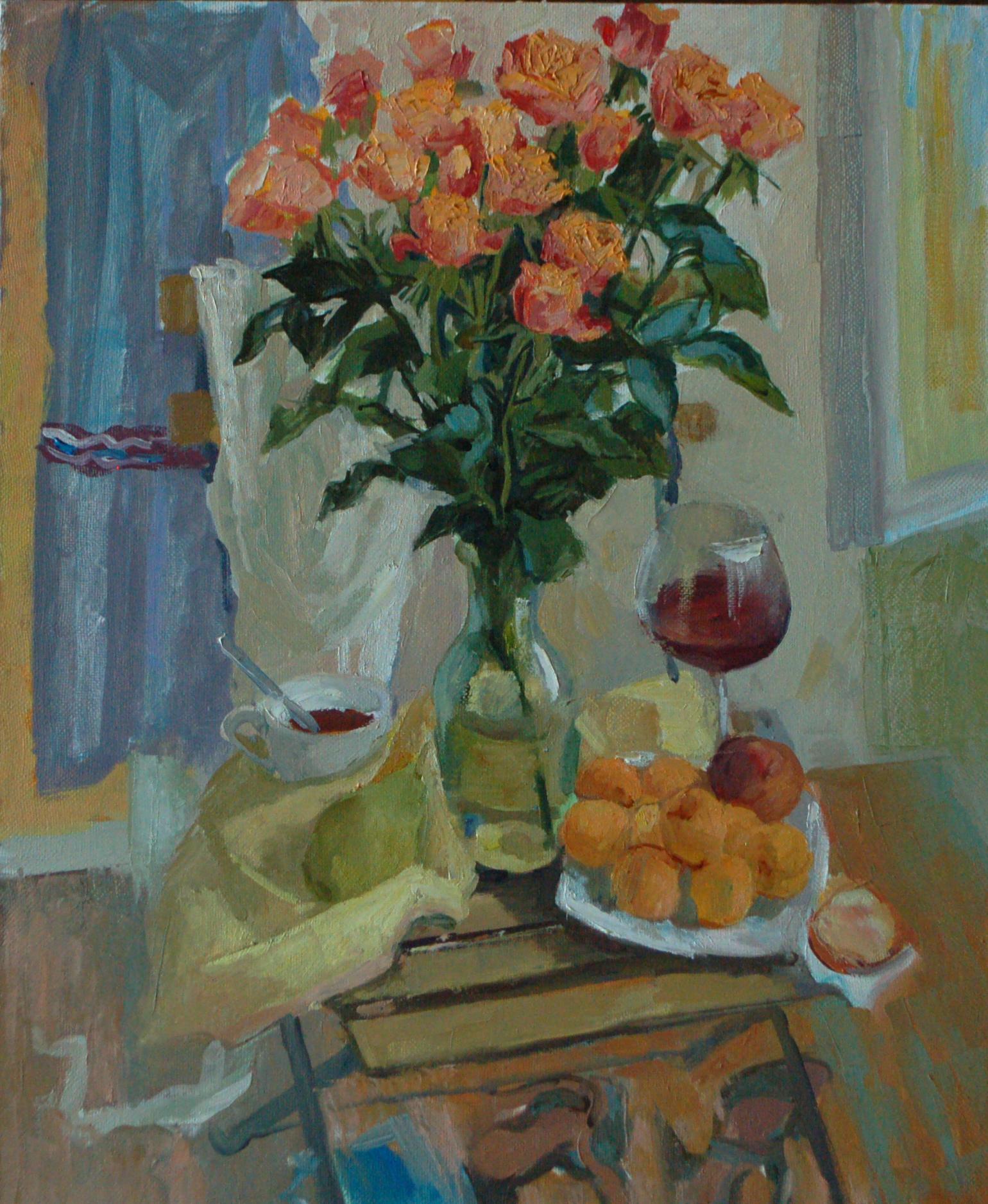 """""""Рыжие розы"""", 2014г."""