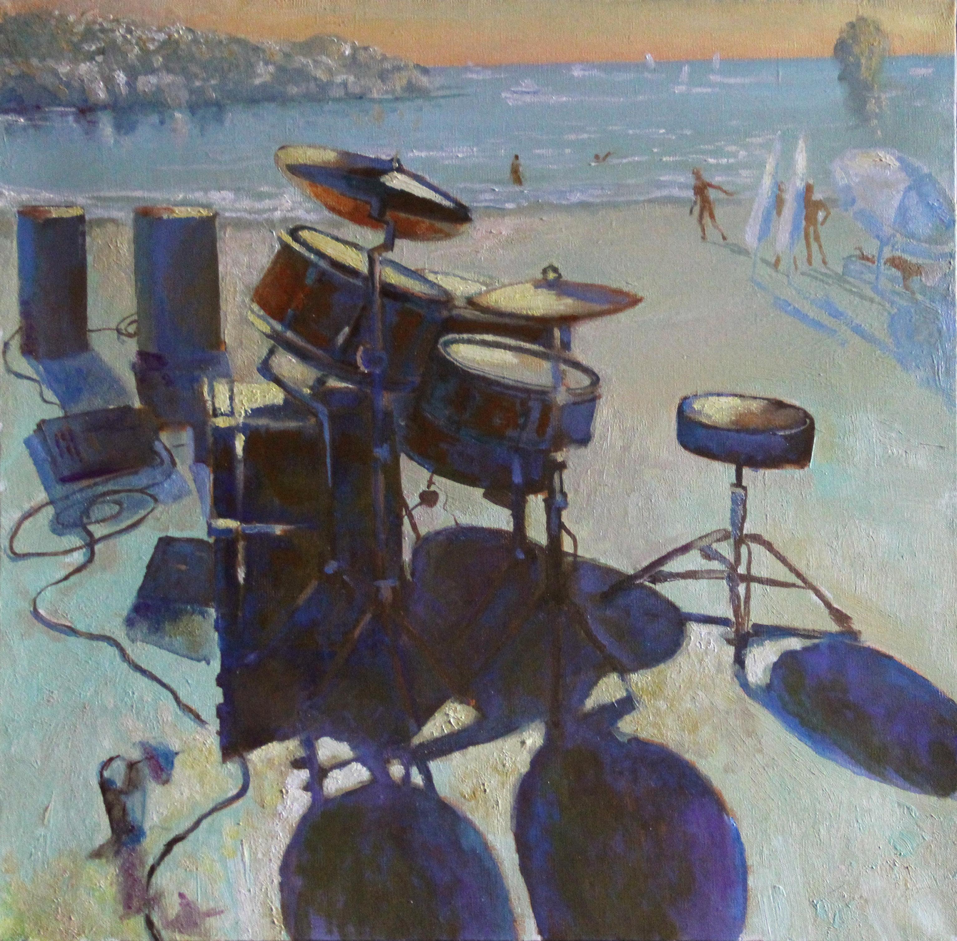 Музыканты на пляже. 2013г.