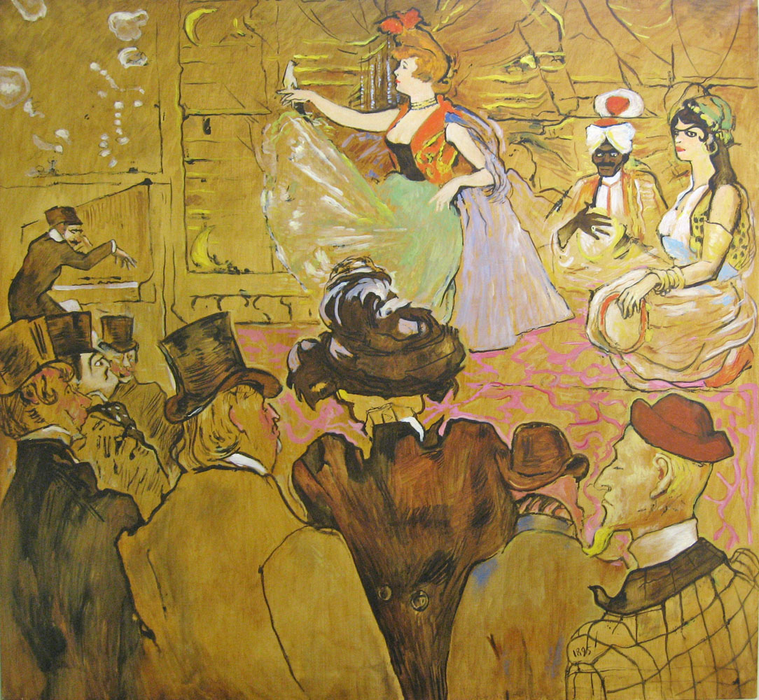 """Мавританский танец"", Т. Лотрек3"