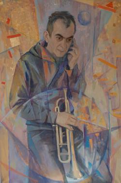 Портрет музыканта Игоря Шилова