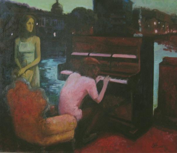 Мелодия ночного Питера. 2009г.
