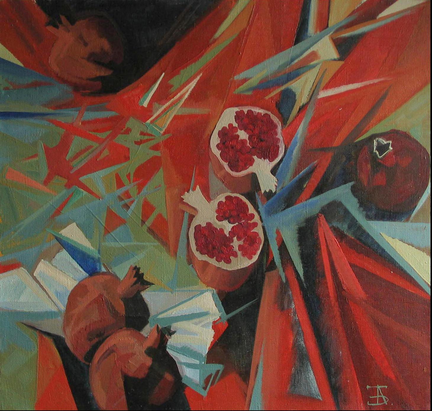 """""""Гранаты"""", 2004г."""