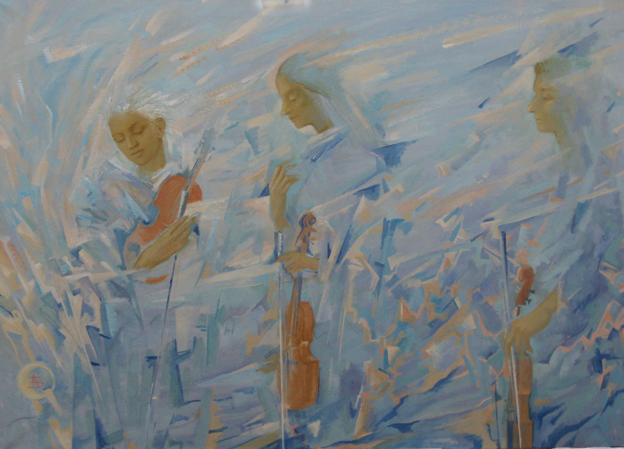 """""""Зимняя мелодия"""" 2008г."""