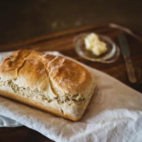 Pan casero con levadura