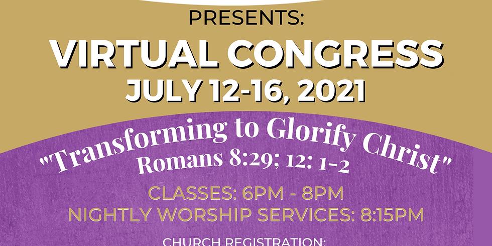 Seaboard Missionary Baptist Association Virtual Congress