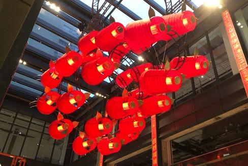 鐵藝立體燈飾