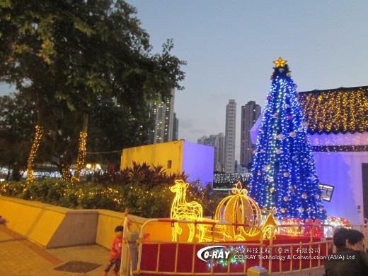節日燈飾 | 樹木掛燈 | Coray
