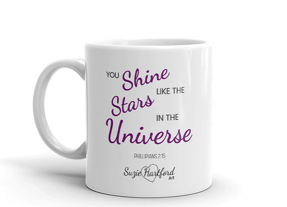 Bible Verse Star Dance Mug