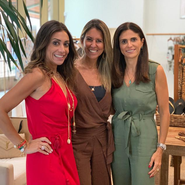 Fe Figueiredo, Mari Niro and Lu Riscala