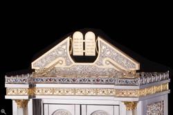 Torah Ark Top Detail