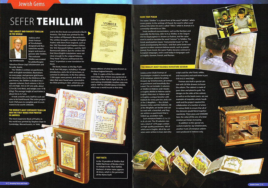 Tehillim & Miniature Book set