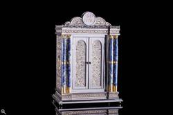 Torah Ark with Lapis Pillars