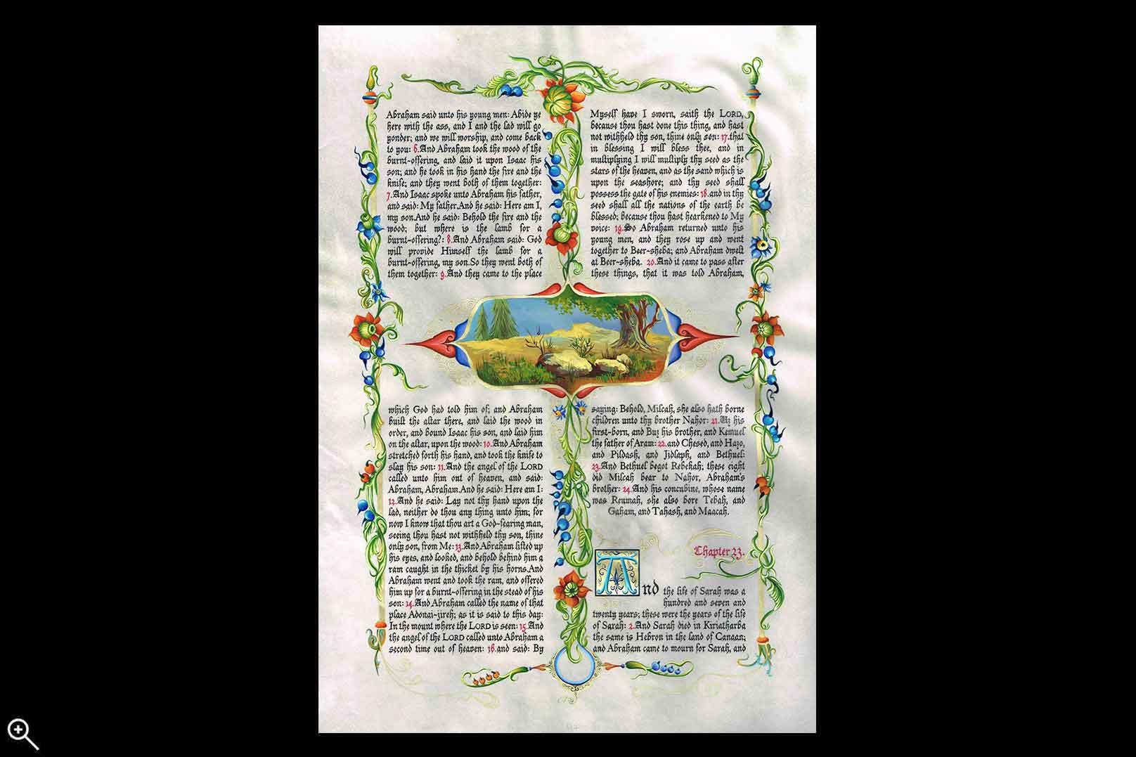 Genesis- Binding of Isaac