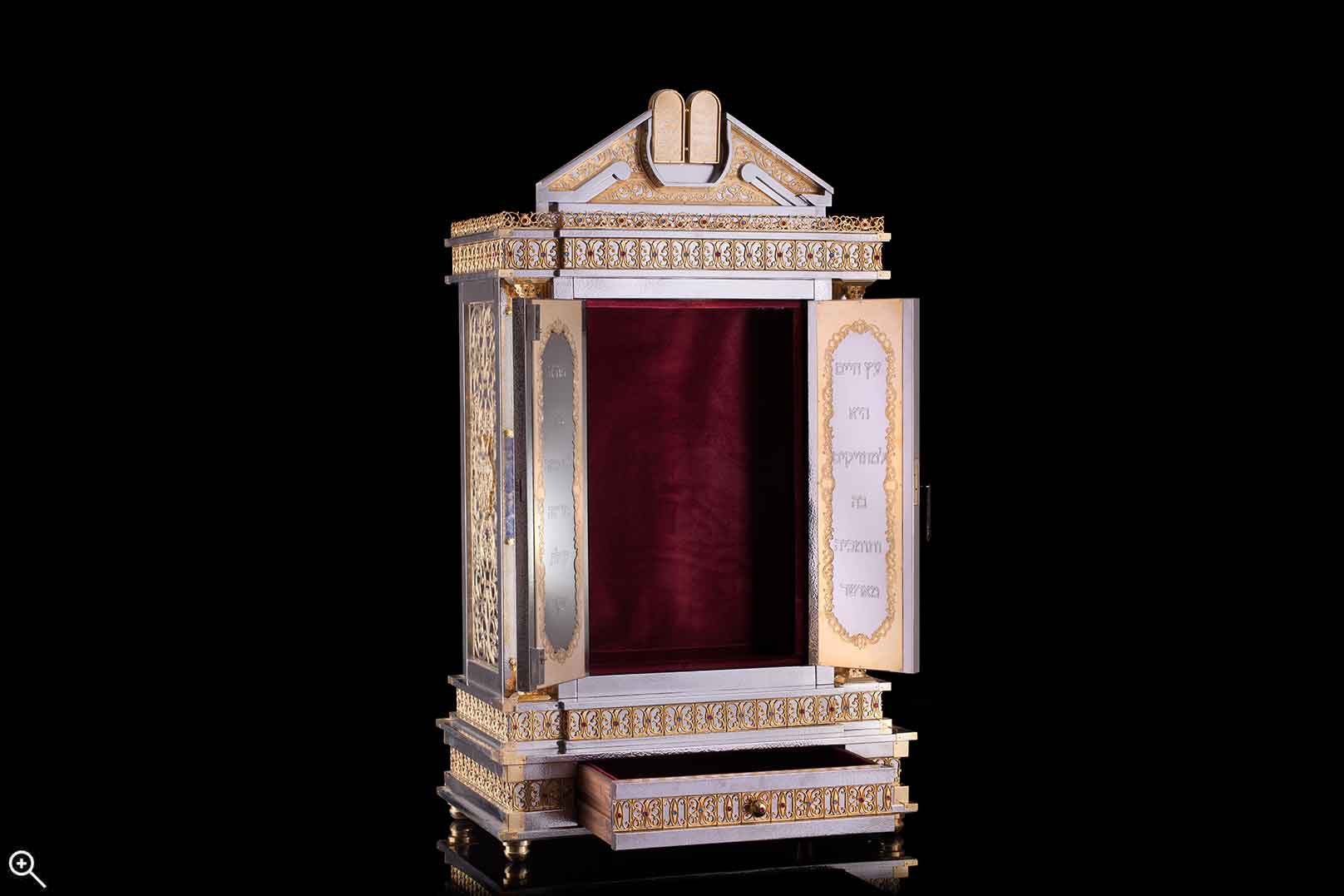 Torah Ark- Open