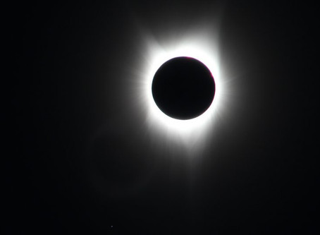 OUR TRUE HOME:  Total Eclipse of the Sun