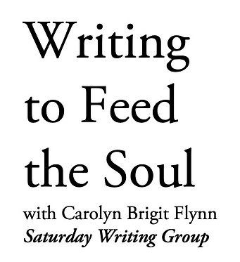 Saturday Monthly Writing Group