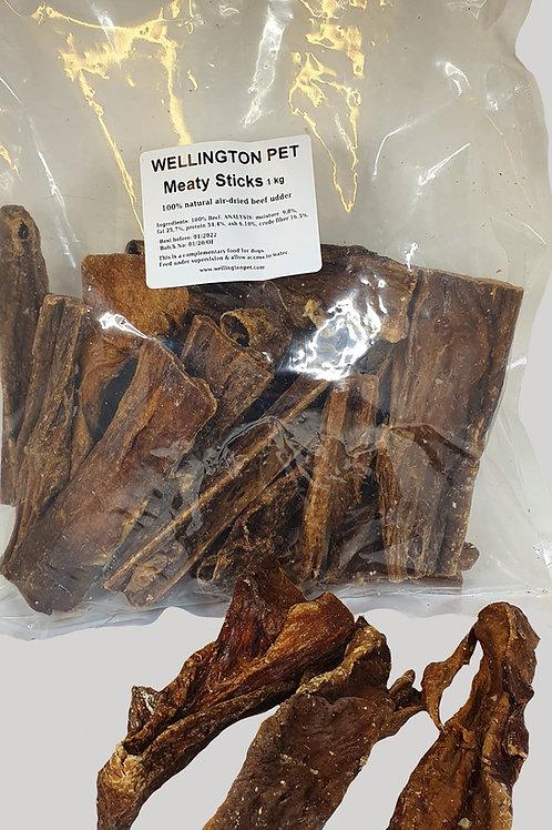 Beef Meaty Sticks (Udder) 1kg