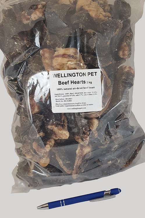 Beef Hearts 2kg
