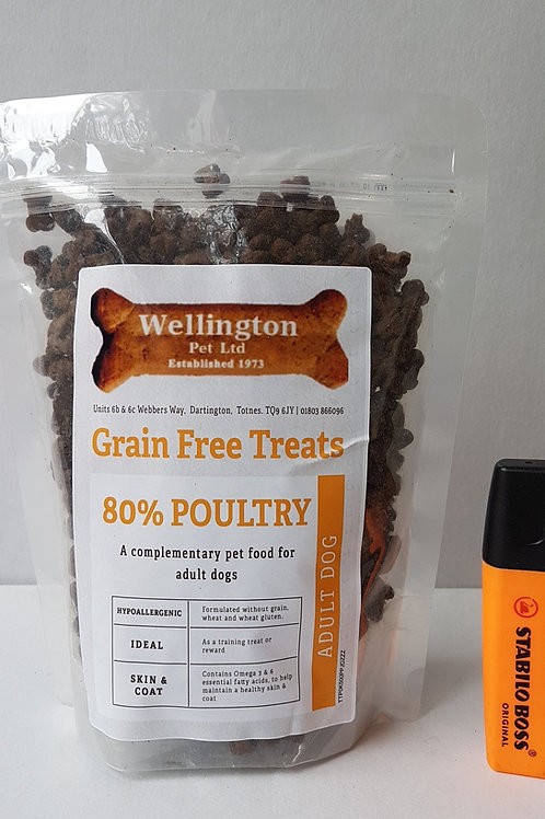 Poultry Training Treats (80% Chicken) 500g