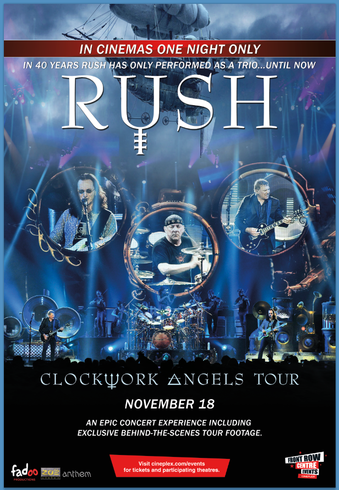 Rush - Clockwork Angels Tour Live