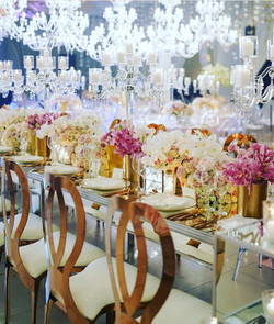 Mirrored Table - Social Event