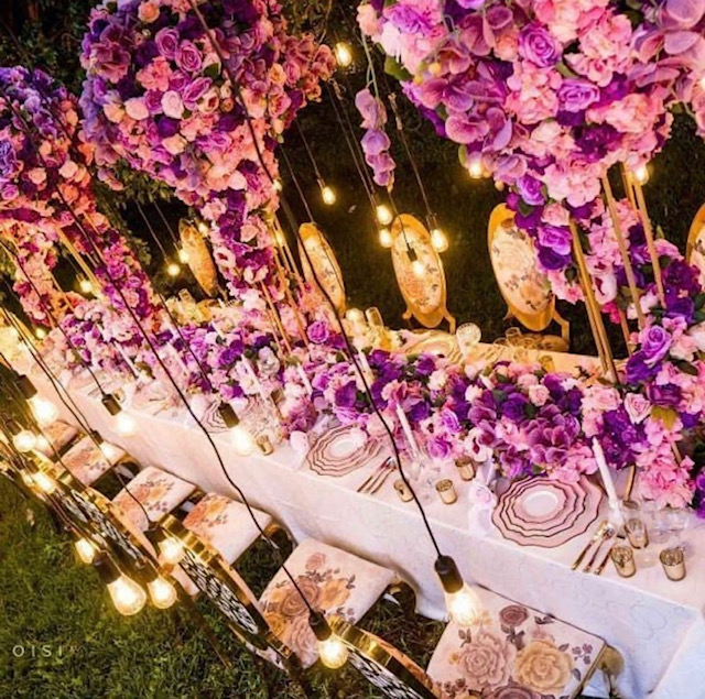 Purple Orchid - DInner Party