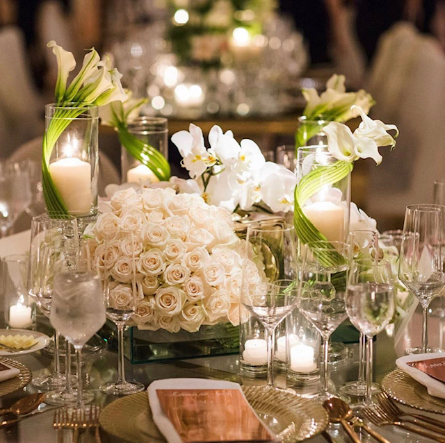 White Roses- Centerpiece