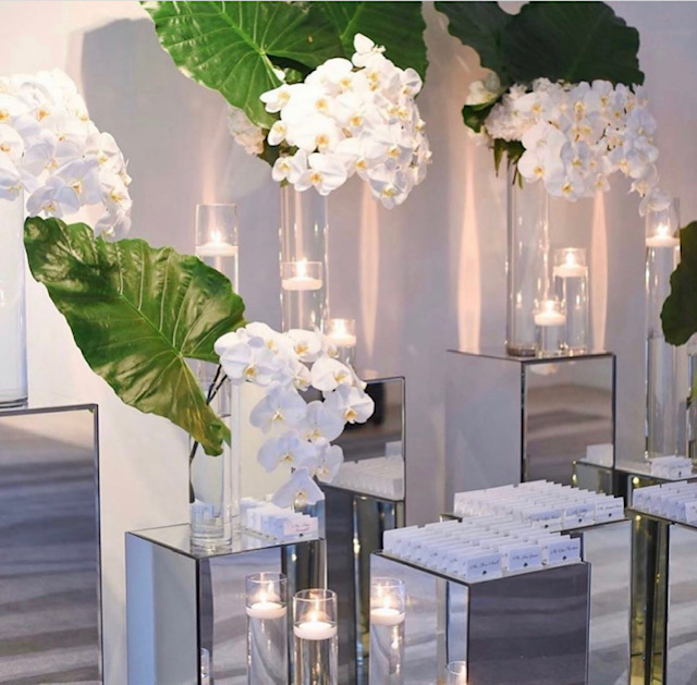 Orchid- Escort Card Display