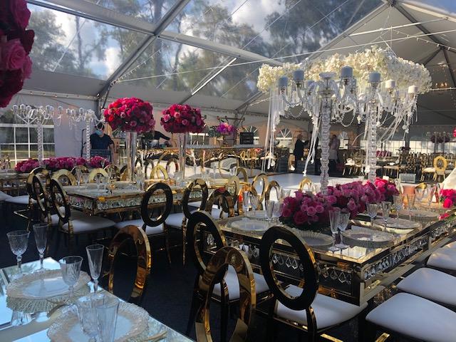 Ceremony & Reception Set up