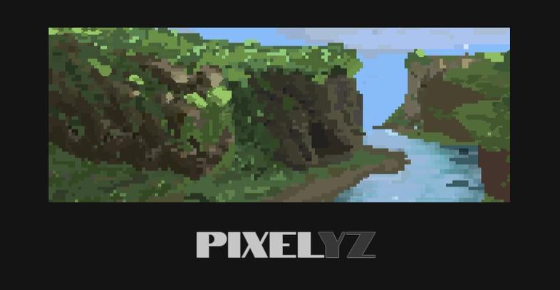 Combine vector and pixel