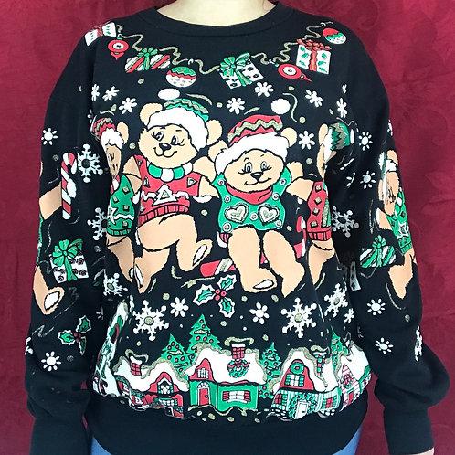 Teddy Bears Christmas Sweatshirt View 1