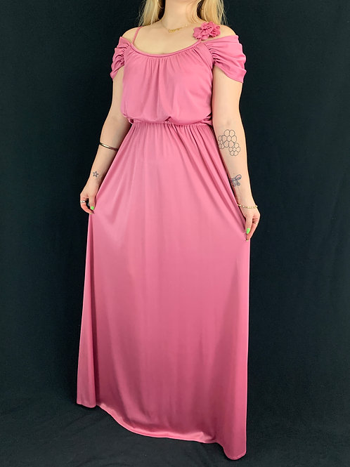 Rouge Pink Maxi Dress View 1