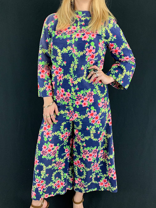 Kitschy Floral Jumpsuit View 1