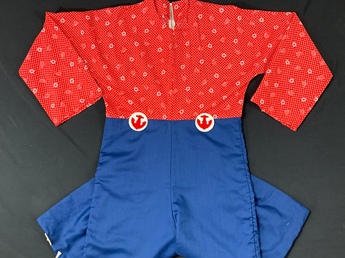 Red White And Blue Nautical Jumpsuit View 1