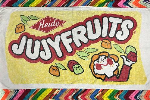 Heide Jujyfruits Candy Novelty Beach Towel View 1