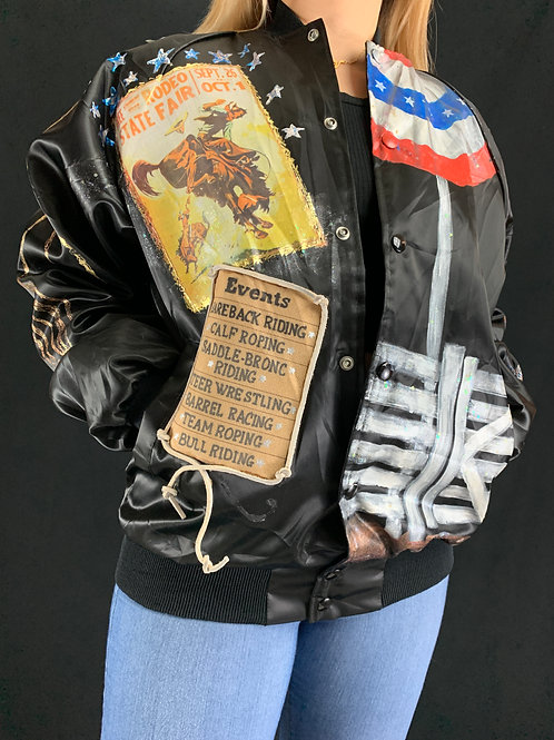 Hand Painted Rodeo Jacket View 1