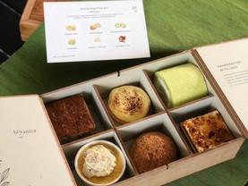 Charming Musang King Petite Dessert Box @Botanica.co