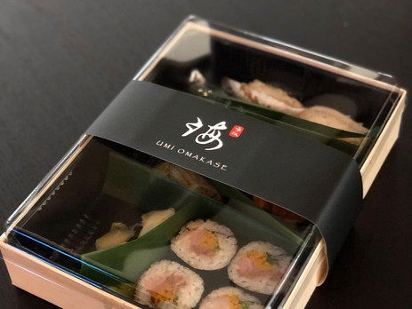 UMI Omakase delivery to your door step