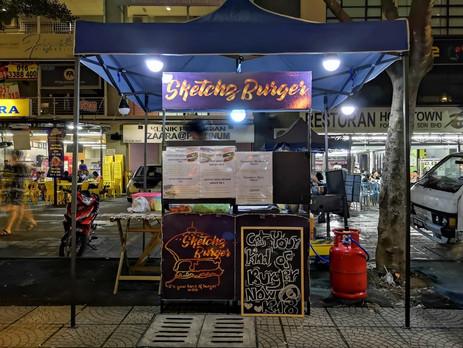 Sketchz Burger @opposite PV16 Platinum Lake Condominium