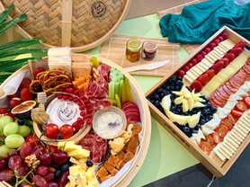 East Meat West's Meat and Cheese Platter  • A Table Full Of Joy