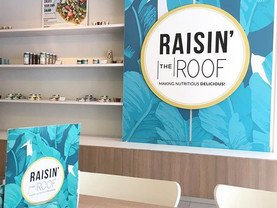 Brunch at Raisin The Roof Cafe
