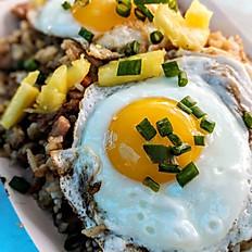 "Spam Fried Rice ""Hawaiian Breakfast"""