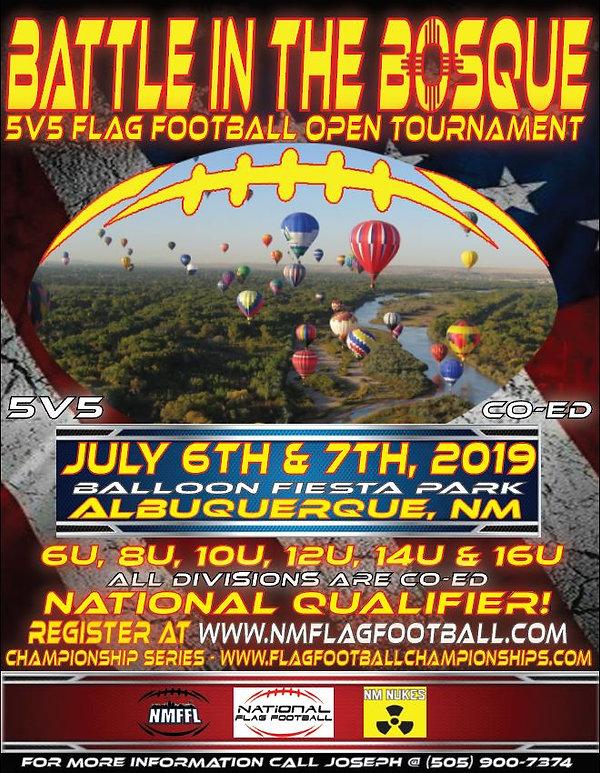 Tournament Flyer Nat'l Qual Glow - Champ