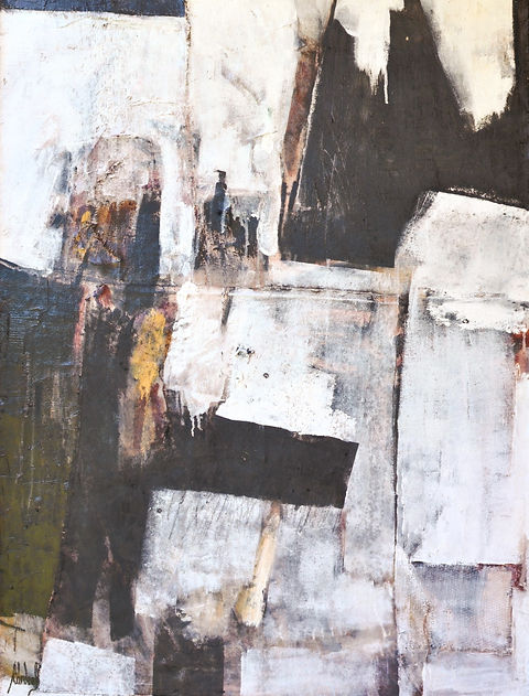 Abstract painting by Antonio Cardenas