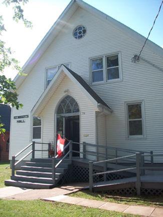 St. Mary's Parish Hall, Summerside, Prince Edward Island